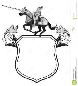 Shield clipart heraldic