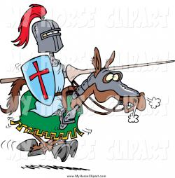 Knight clipart knight jousting