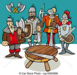Knight clipart knights the round table