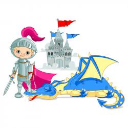 Knight clipart medieval castle