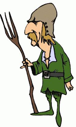 Monk clipart medieval peasant