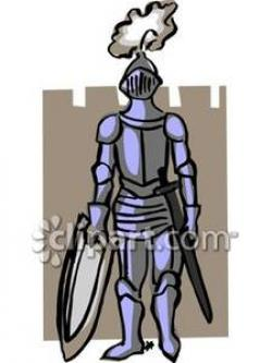 Knight clipart suit armor