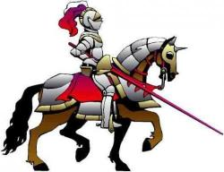 Knight clipart transparent