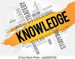 Knowledge clipart educational