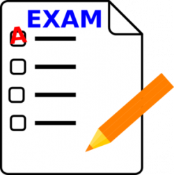 Knowledge clipart exam paper