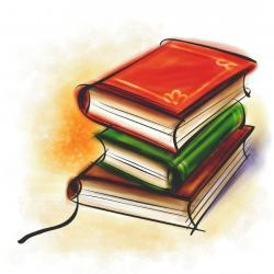 Knowledge clipart law book