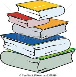 Knowledge clipart library book