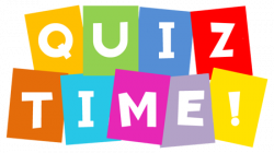 Poem clipart quiz time