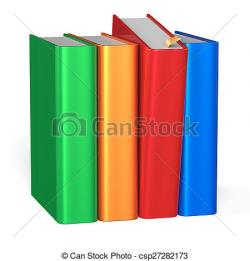 Knowledge clipart row book