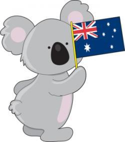 Koala Bear clipart aussie