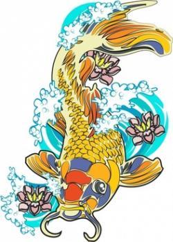 Koi Carp clipart ikan