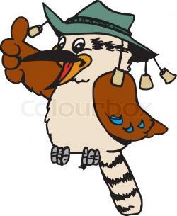 Kookaburra clipart baby