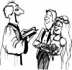 Wedding clipart cord