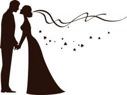 Romance clipart bridal