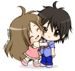 Cuddling clipart lovely