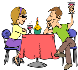 Date clipart first date