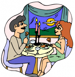 Kopel clipart dinner
