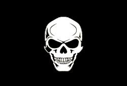 Pistol clipart skull