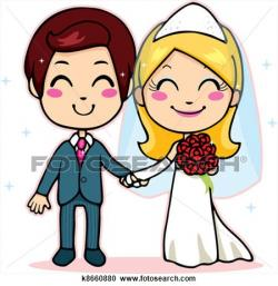 Kopel clipart just married