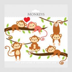 K.o.p.e.l. clipart monkey