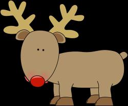 Christmas clipart reindeer