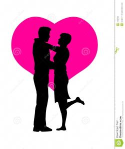 Couple clipart romantic couple