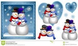 Kopel clipart snowman