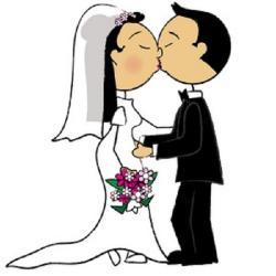 Wedding Cake clipart bridal couple
