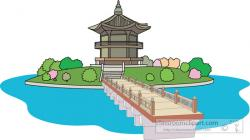 Korean clipart palace