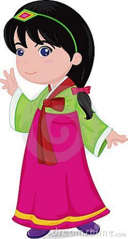 Korean clipart korean person
