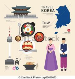 Korea clipart graphic design