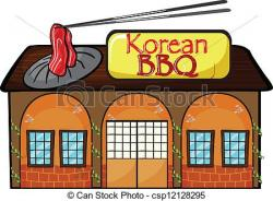 Korean clipart korean bbq