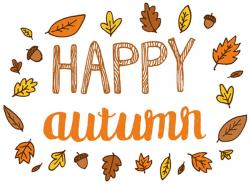 Here clipart autumn is