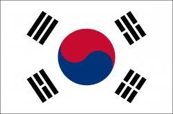 South Korea clipart South Korea Flag Clipart