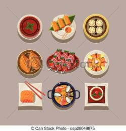 Korea clipart korean food