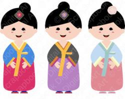 Korean clipart korean boy