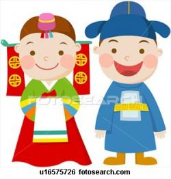 Korea clipart korean person