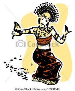 Dancer clipart malay