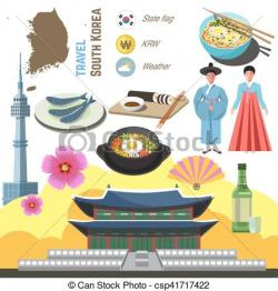 Korean clipart seoul