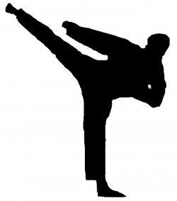 Korean clipart taekwondo