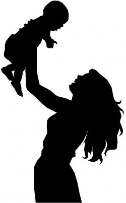 Mother And Baby clipart single parent family