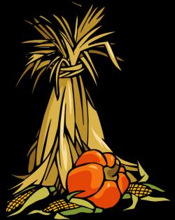 Wheat clipart corn stalk bundle