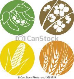 Korn clipart soybean