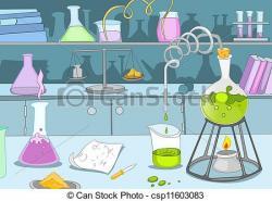 Laboratory clipart background