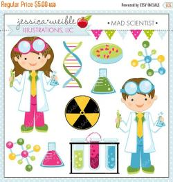 Laboratory clipart child scientist