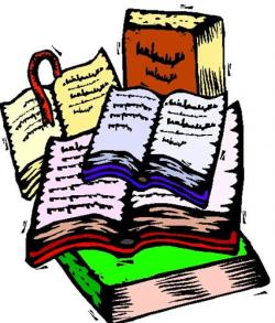 Library clipart library research