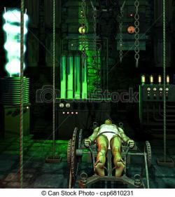 Frankenstein clipart laboratory
