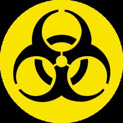 Biohazard clipart nuke