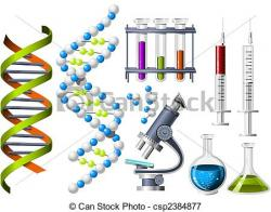 Laboratory clipart genetic