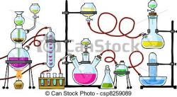 Laboratory clipart graphic